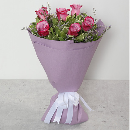 Bouquet Of Purple Roses BH: Mothers Day Gifts in Bahrain