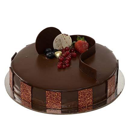 1kg Chocolate Truffle Cake BH: Gifts to Manama
