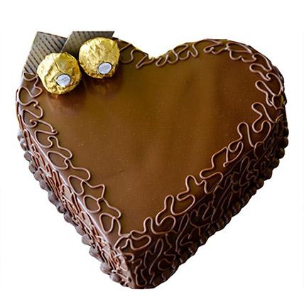 Heart Choco Cake BH: Cakes to Manama