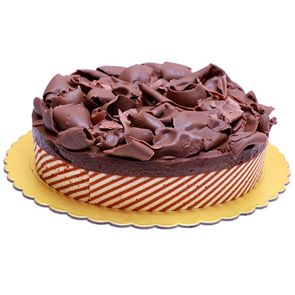 Yummy Chocolate Mousse Cake: Send Cakes to Bahrain