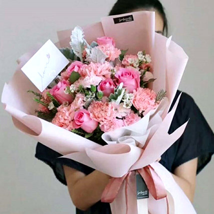 The Perfect Pink Bouquet: Send Flowers To China