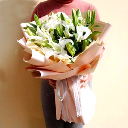 White Lily Love: Send Gifts To China