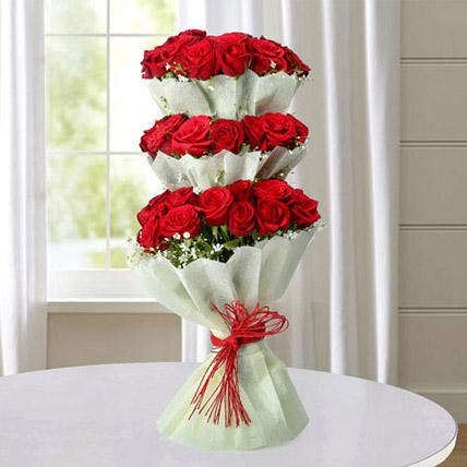 Multi Storied Roses JD: Send Gifts to Jordan