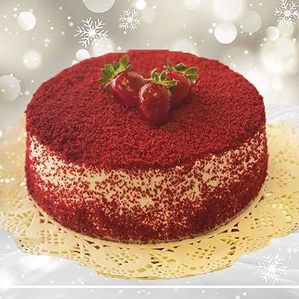 Opulent Red Velvet: Send Cake to Jordan