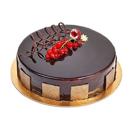 500gm Eggless Chocolate Truffle Cake:  Eggless Cake Delivery