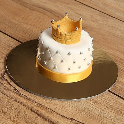 Designer Crowned Mono Cake: Anniversary Cakes to Umm Al Quwain
