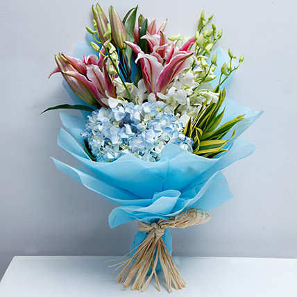 Exclusive Masterpiece: Flower Bouquets to Dubai