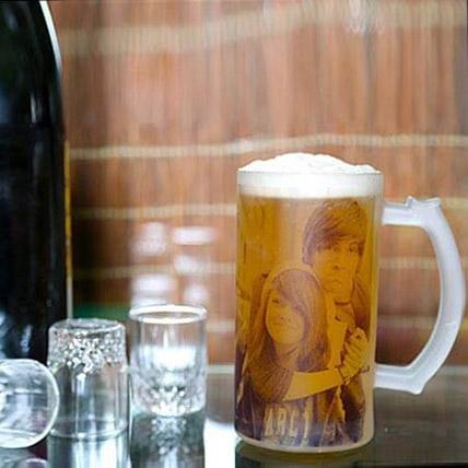 Funtime Personalize Beer Mug: Anniversary Mugs