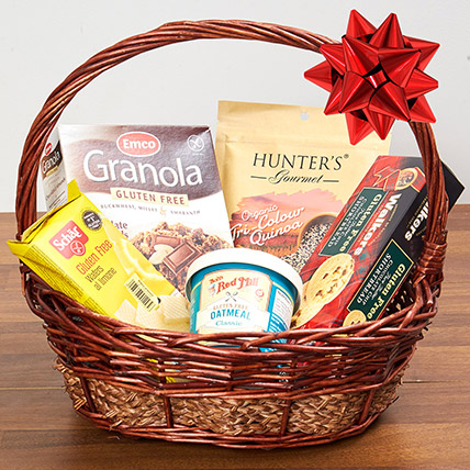 Gluten Free Snack Basket: Gift Hampers