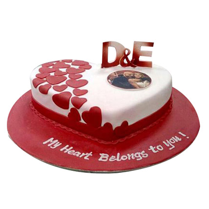 Little Hearts Cake: Heart Shaped Cakes
