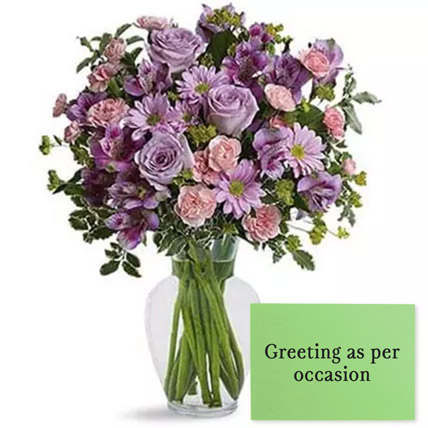 Ornamental Flowers With Greeting Card: Wedding Flowers & Greeting Cards