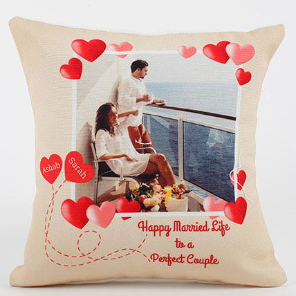 Perfect Love Personalized Cushion: Personalised Cushions