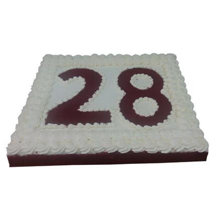 R for Red Velvet Cake 6Kg: Red Velvet Cake