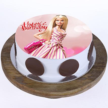 Stylish Barbie Cake: Barbie Cakes