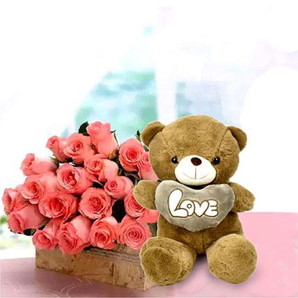 Perfect Fantasy: Teddy Day Flowers