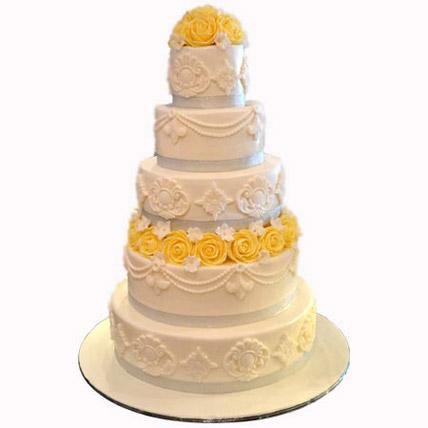 Yellows and the Mellows: Wedding Cake