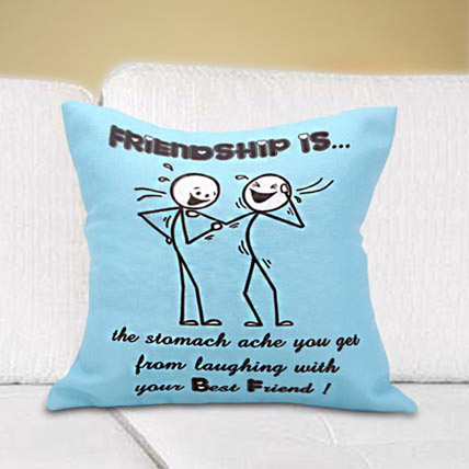 Laughing with Friends: Friendship Day Cushions