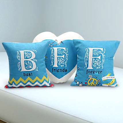 Best Friends Forever Trio: Friendship Day Cushions