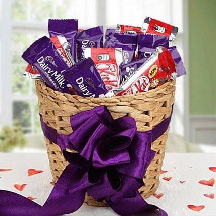 Chocolaty Treat: Holi Gifts