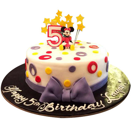 Amazing Minnie Cake: Minnie Mouse Cake