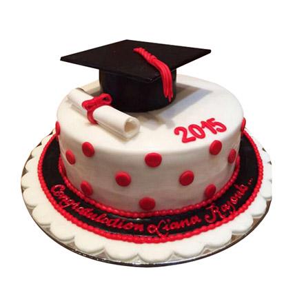 Convocation Degree Cake: Graduation Cakes