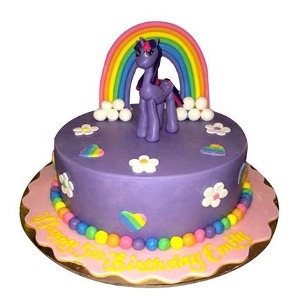 Pony the cartoon Cake: My Little Pony Cake