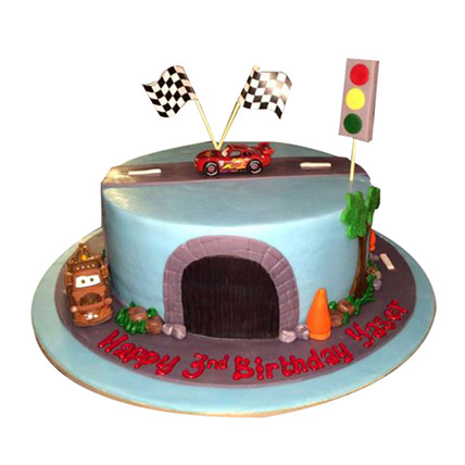 Cool Online Car Cakes Cars Birthday Cake Hot Wheels Cake Ferns N Funny Birthday Cards Online Elaedamsfinfo