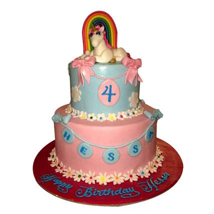 Elegant Pony Cake: My Little Pony Cake