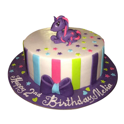 Mesmerizing Pony Cake: My Little Pony Cakes