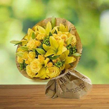 Sunshine love: Flower Delivery
