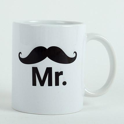 Mr Ceramic Mug: Raksha Bandhan Personalised Gifts