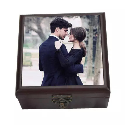 Personalized Wooden Box: Personalised Anniversary Gifts