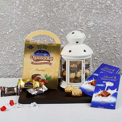 Chocolates In Lantern: Chocolates