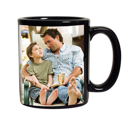 Personalized Black Coffee Mug: Personalised Gifts to Dubai