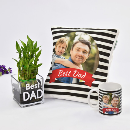 Best Dad Ever Combo: Personalized Fathers Day Gifts 2020
