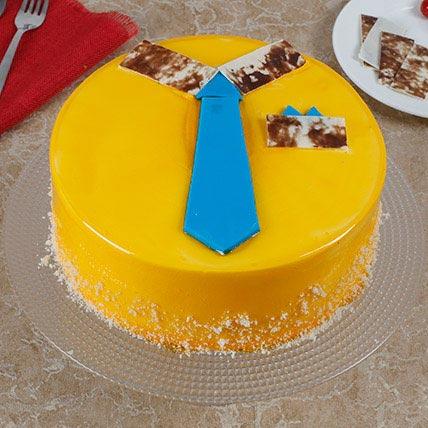 Summer Special Mango Cake: Farewell Cakes