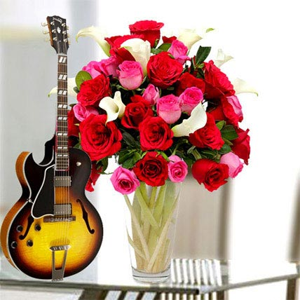 A Song and Flower For Love: Flowers & Guitarist Service