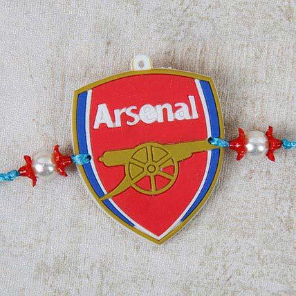 Modern Arsenal Rakhi: Send Rakhi in Ajman