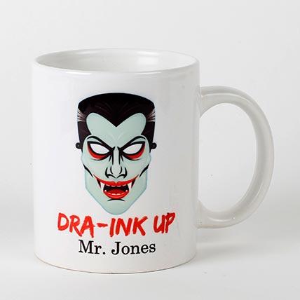 Scary Dracula Mug: Halloween Gifts