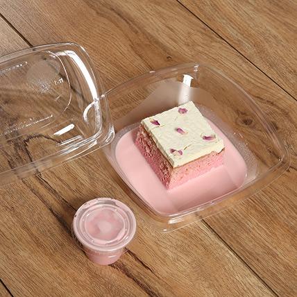 Luscious Rose Flavor Milk Cake: Milk Cakes