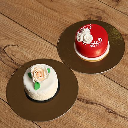 Combo of 2 Designer Mono Cakes: Mono Cakes