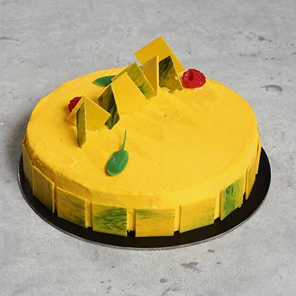Sizzling Lemon Cake: Mango Cakes