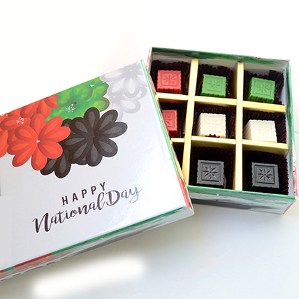 National Day Chocolate Box: UAE National Day Gifts