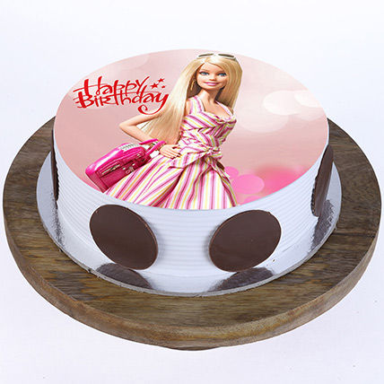 Stylish Barbie Cake: Birthday Gifts for Kids