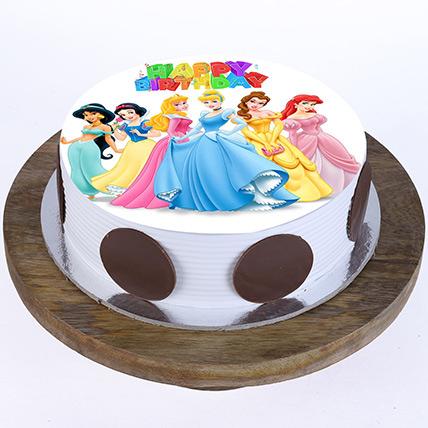 Disney Princess Cake 1: Princess Birthday Cake
