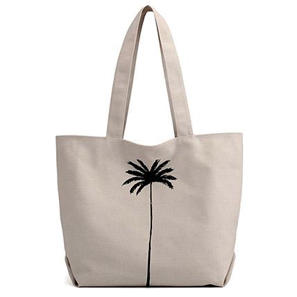 Canvas Shopper Bag: Accessories