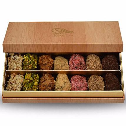 Assorted Box Of Stuffed Dates 14 Pcs: Ramadan Gifts to Dubai