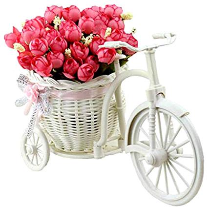 Artificial Baby Pink Peonies Arrangement: Artificial Flowers