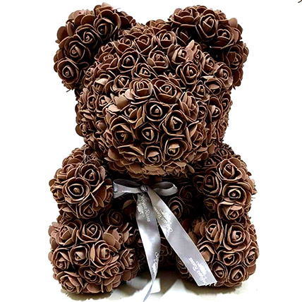 Artificial Brown Roses Teddy: