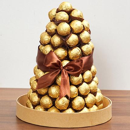 Belgian Chocolate Tower: Romantic Gifts